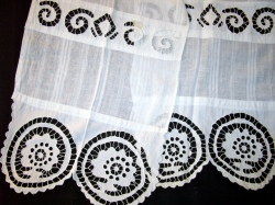 Cutwork or 'beli vez' from Banat region, village of Jasenovo near Vrsac.