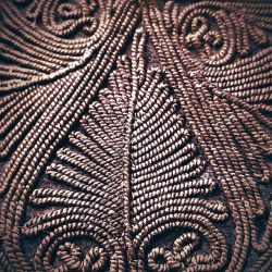 Detail of men's vest - jelek, central Serbia.